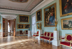 Interior of the Pavlovsk palace, Russian Imperial residence, nea Stock Photos