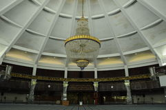 Interior of Penang State Mosque in Penang Stock Photo
