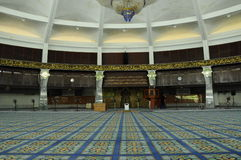 Interior of Penang State Mosque in Penang Stock Image