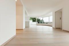 Interior, penthouse totally empty Stock Photo