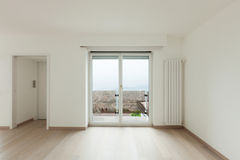 Interior, penthouse totally empty Royalty Free Stock Images