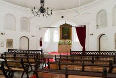 Interior pequeno da igreja Fotos de Stock Royalty Free