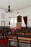 Interior pequeno da igreja Fotos de Stock
