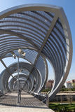 Interior Perrault bridge view in Rio Madrid Stock Photography