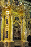 Interior of the Peter and Paul Cathedral in St. Petersburg Royalty Free Stock Image