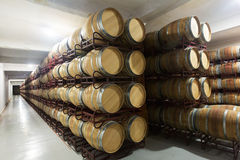 Interior photo of  winery Stock Image