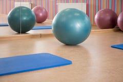 Interior of pilates room Royalty Free Stock Image