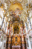 Interior of Pilgrimage Church Germany Stock Images