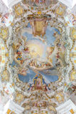 Interior of Pilgrimage Church Germany royalty free stock photo