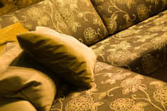 Interior. Pillows Royalty Free Stock Photography