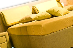 Interior. Pillows. Interior  Pillows homey  interior  living  pillow Royalty Free Stock Image