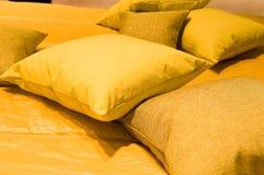 Interior. Pillows. Interior  Pillows homey  interior  living  pillow Royalty Free Stock Photos
