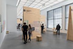 Interior of the Pinakotheke Der Moderne Royalty Free Stock Image