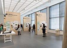 Interior of the Pinakotheke Der Moderne Stock Photo