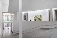 Interior of the Pinakotheke Der Moderne Stock Photos