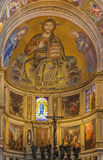 Interior of Pisa cathedral, Italy Royalty Free Stock Photos