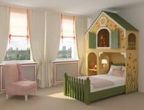 Interior of playroom. Royalty Free Stock Photos