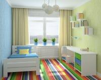 Interior of playroom. Royalty Free Stock Photography