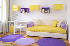 Interior of playroom. Stock Images