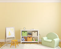 Interior of playroom. Royalty Free Stock Photography