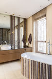 Interior with plunge bath Stock Photography
