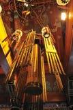 Interior of Po Lin Monastery Royalty Free Stock Photos