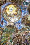Interior of Pochaiv monastery - Ukraine Stock Image