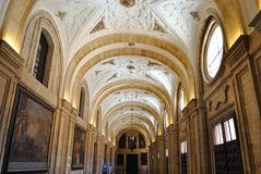 Interior of Pontifical University of Salamanca Royalty Free Stock Images