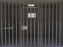 The interior of the prison cell Stock Photography