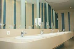 Interior of private restroom Stock Photos