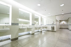 Interior of private restroom Stock Photography