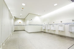 Interior of private restroom Royalty Free Stock Photo