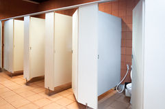 A Interior of public clean toilet royalty free stock image