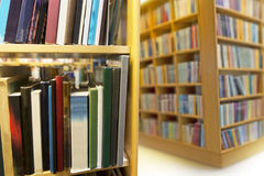 Interior from public library Royalty Free Stock Photography