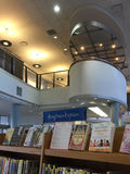 Interior of a  public library Royalty Free Stock Photos