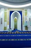 Interior of Puncak Alam Mosque at Selangor, Malaysia Stock Photos