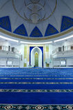 Interior of Puncak Alam Mosque at Selangor, Malaysia Stock Photo