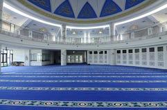 Interior of Puncak Alam Mosque at Selangor, Malaysia Royalty Free Stock Photo