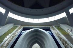 Interior of Puncak Alam Mosque at Selangor, Malaysia Stock Image