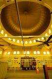 Interior of Putra Nilai Mosque in Nilai, Negeri Sembilan, Malaysia Stock Images