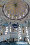Interior Qol Sharif mosque in Kazan Royalty Free Stock Photo