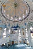 Interior Qol Sharif mosque royalty free stock images