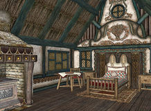 Interior of quaint cottage Stock Image
