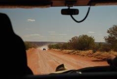 Interior que conduz, Território do Norte, Austrália Foto de Stock Royalty Free