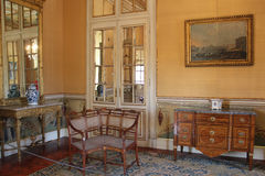 Interior of the Queluz National Palace, Sintra Stock Photo