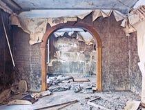 Interior quemado Imagen de archivo