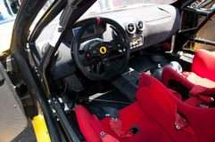 Interior racing car Stock Photography