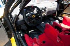 Interior racing car Stock Photography