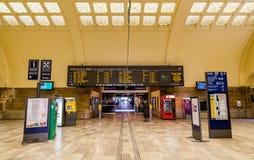 Interior of the railway station Metz-Ville Royalty Free Stock Photos