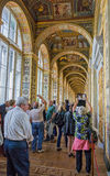 Interior of Raphael loggias, State Hermitage Museum Royalty Free Stock Images
